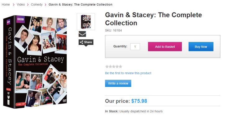 Gavin and Stacy DVD Collection