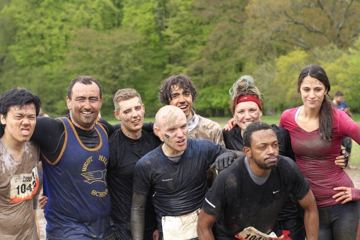VivaKi team takes on Tough Mudder and raises over 1500 GBP for cancer